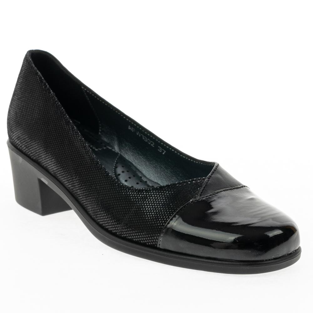 8ee44567bff Ανατομικά Παπούτσια Casual Γυναικεία ARCOPEDICO AFW 1802 BLACK ...
